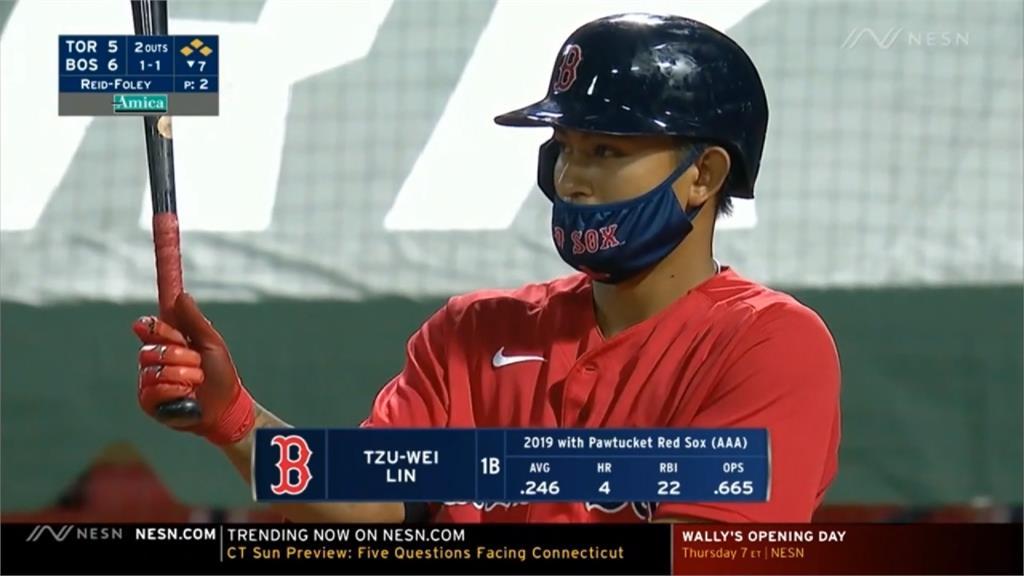 MLB/林子偉滿壘打擊殘念!熱身賽打擊率仍在四成以上