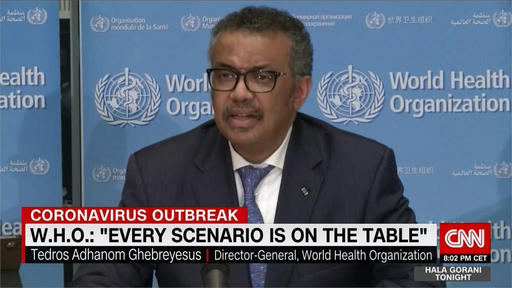 世衛秘書長再挺中國 籲各界對疫情勿反應過度