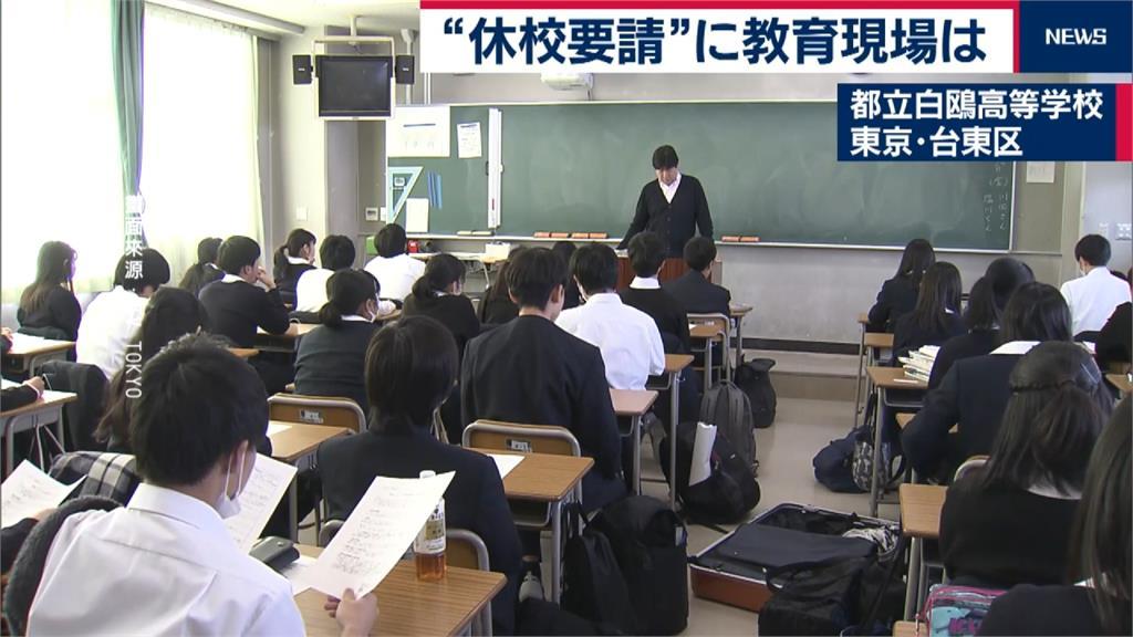 一團亂!中央地方不同調 日本高中已下停課引民怨
