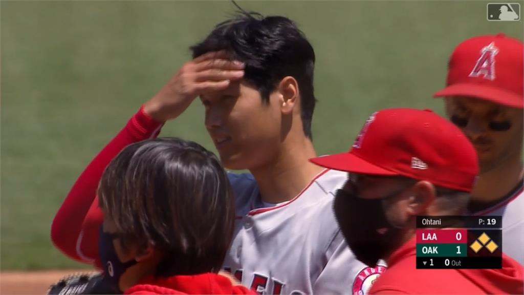 MLB/本季初登板防禦率無限大 大谷翔平:不像投球而是傳球