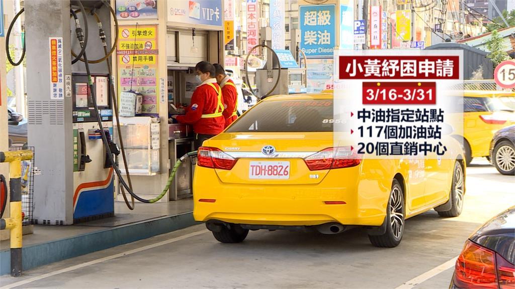 每月2000元!中油受理計程車油料補貼申請