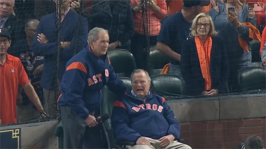 老布希高齡94歲辭世 史上最熱愛棒球總統