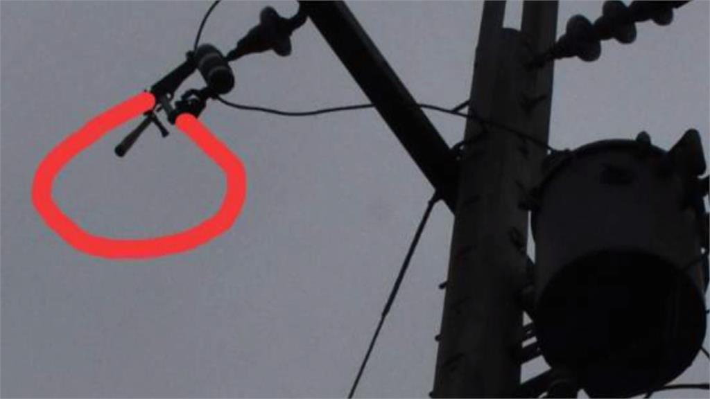 疑深夜偷剪電線 男子觸電落地身亡