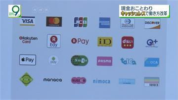 電子支付使用僅1成9 日本計畫2025達4成