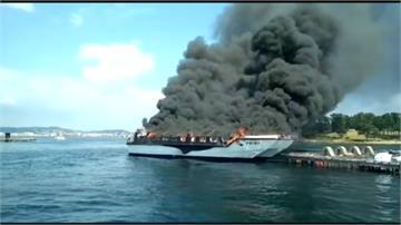 西班牙傳火燒觀光帆船 至少2人重傷