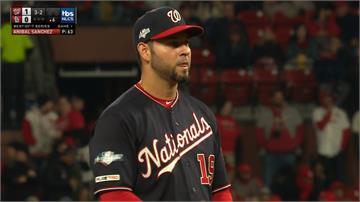 MLB/國民桑契斯7.2局無安打 自家、對手教頭都給讚