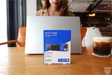 3C/提升速度效能高CP選擇 WD Blue SN550 NVMe SSD 1TB 開箱