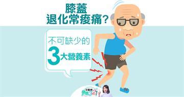 膝蓋退化常痠痛?不可缺少的3大營養素