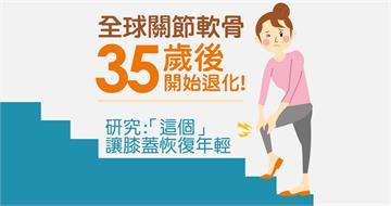 全球關節軟骨35歲後開始退化! 研究:「這個」讓膝蓋恢復年輕