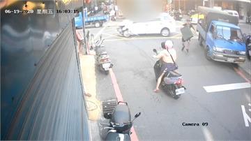 「不要動!」搶匪搶車失風 路人挨撞命危
