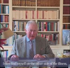 英週三死亡病例創新高 查爾斯王子康復露臉