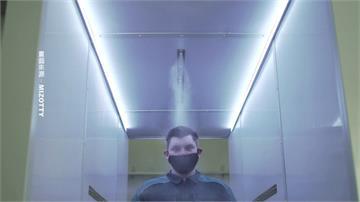 俄羅斯總統府、官邸加裝消毒通道 經過人員全面消毒