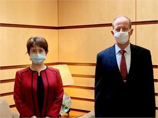 快新聞/蕭美琴會晤美亞太助卿 外交部:持續穩健深化台美夥伴關係