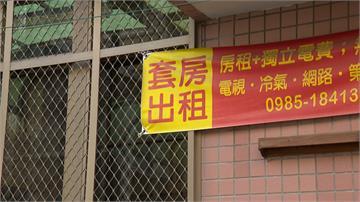 疫情衝擊租屋市場 台中大學城吹起「降租風」