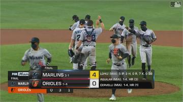 MLB/馬林魚遞補12名新選手 4:0完封金鶯 勝率分區第一