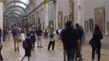 羅浮宮重新開放首日!人潮大減遊興更高