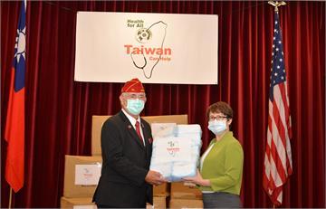 快新聞/蕭美琴華府首亮相致贈口罩 美退伍軍人協會連說3次「感謝台灣」