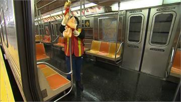 史上首見!紐約地鐵今起每日凌晨關閉4小時大消毒