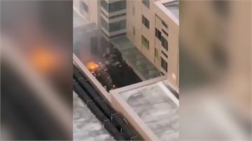 中國領事館焚燒文件滅證釀火警?蓬佩奧警告中方勿踰矩
