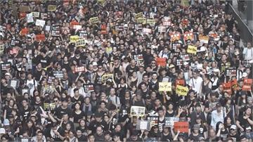 LIVE/抗議港版國安法!香港民眾上街遊行