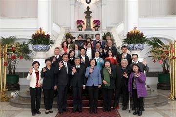 快新聞/蔡英文祝賀新國會上任 盼朝野團結福國利民
