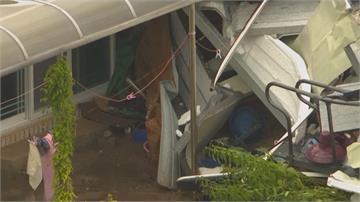 暴雨已成災 南韓又臨颱風薔蜜襲擊