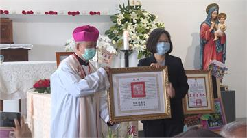總統褒揚令追思甘惠忠神父 蔡英文:他永遠留在台灣人心中