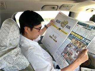 快新聞/選前宣傳資源轉為香港發聲 陳其邁:高雄會永遠撐住香港