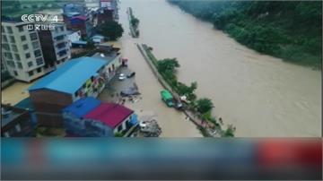 「洪峰」順利通過武漢 中國今早再發暴雨警報