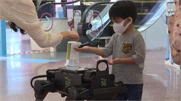 防疫自動化!泰國購物中心推「機器人K9」