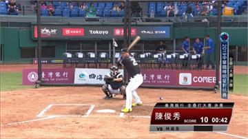 中職/全壘打大賽決賽 陳俊秀首度奪冠