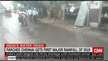 印度清奈首場大雨「杯水車薪」難解乾旱