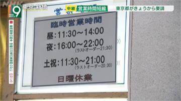 疫情拉警報 日本補助提前打烊餐廳酒吧