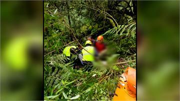 新竹鎮西堡登山意外 遊客摔深山谷喪命