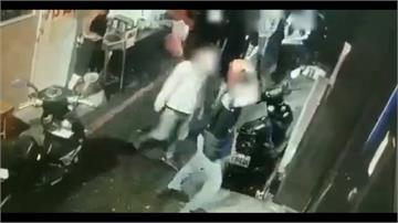 萬華小吃部深夜傳喋血衝突 10人圍毆、砍傷1男