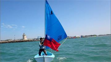 身障帆船世界盃 台灣選手吳其謙奪第三名
