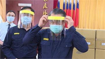 體恤警察執勤辛勞 慈濟致贈千枚防疫面罩