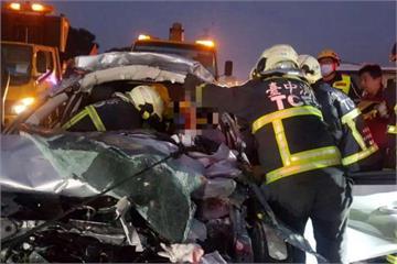 國道坡度彎、缺照明 同路段又發生車禍意外