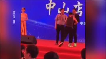 任達華中國濺血 狂徒喬裝粉絲持刀刺左腹