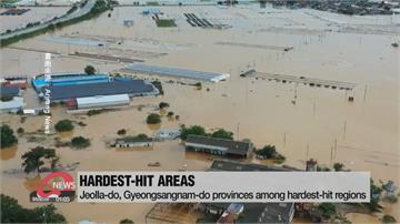 南韓暴雨下了50天還沒完 薔蜜颱風接著來災情恐擴大