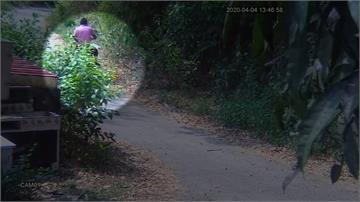 清明連假美濃大火燒3天 紫衣男涉縱火被拍下