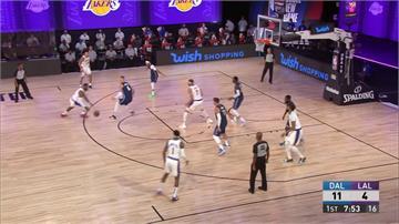 NBA/湖人熱身賽出師不利 詹皇、AD各得12分不敵獨行俠