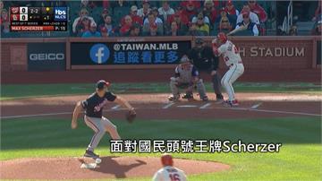 MLB/薛澤7局無失分 國民冠軍戰第二勝