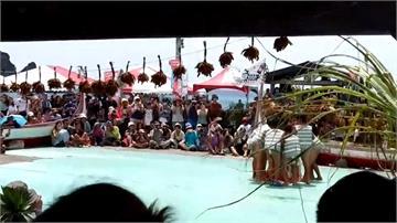 端午連假巧碰達悟族小米祭 遊客參與年度盛事