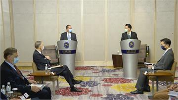 台美雙部長會面!阿札爾:台灣成就應被認可