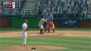 MLB/狂!洋基連11場開轟 打破隊史新紀錄
