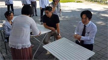 賴清德訪屏東參觀綠色書店 讚潘孟安五星縣長
