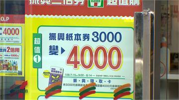 三倍券3千變4千遭疑成「儲值卡」 經濟部長:促銷活動不違法