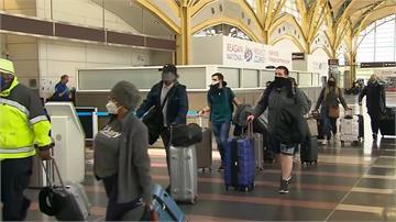 美航空公司要求戴罩 香港機場推全身消毒