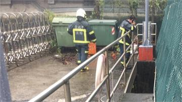 北投抽水站清淤失足 3公尺水底找到屍體